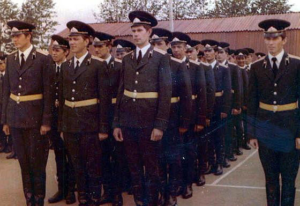 Офицеры, 111 взвод, 1-й выпуск ТВВСКУ
